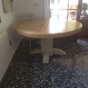 For sale: Round designer dining table