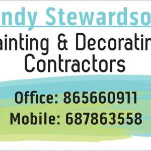 Andy Stewardsons Painting and Decorating Contractors