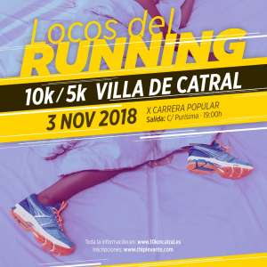 Local Race in Catral Organised by the Club Atletismo Catral