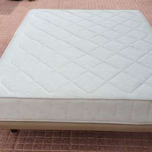 For sale: Double mattress with base - €50