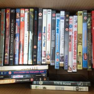 For sale: Big lot of dvd´s