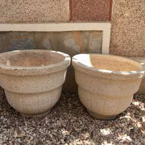 For sale: FOR SALE 2 Large Garden Pots NOW SOLD - €10