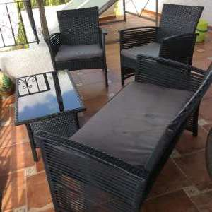 Wanted: Garden table and chairs