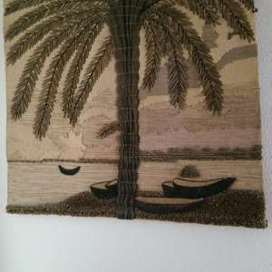 For sale: Woven hanging picture