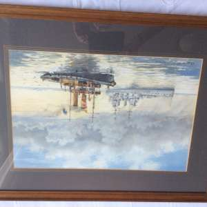 For sale: Framed hand painted pictures signed by private artist - €200