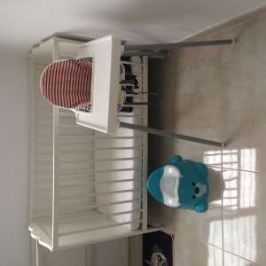 For sale: Travel cot and high chair