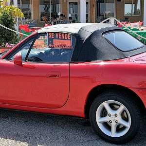 For sale: Red Mazda Mx5 Convertible