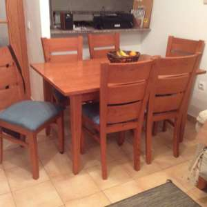 For sale: Table and chairs