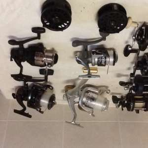 For sale: Various fishing reels