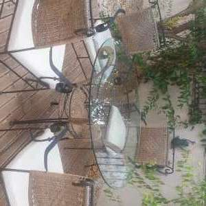 For sale: Patio table and chairs - NOW SOLD - €80