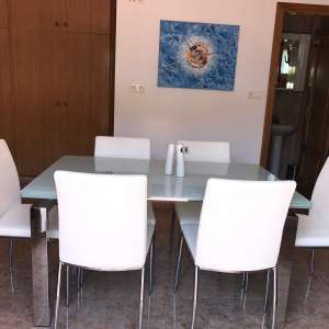 NOW SOLD - Dining table and chairs