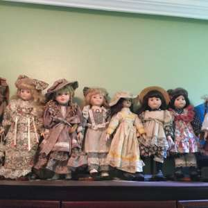 For sale: Collection of Porcelain Dolls