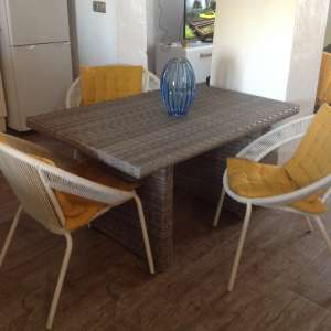 For sale: Garden/patio/ conservatory  table & chairs - €120