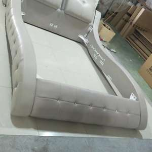 For sale: Brand new leather bed with matress - €700