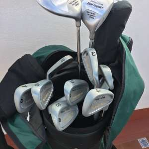 For sale: Perfect Gift for the Golf Professional 2 Brand new Carts 1 set Clubs and New Putting Set - €125