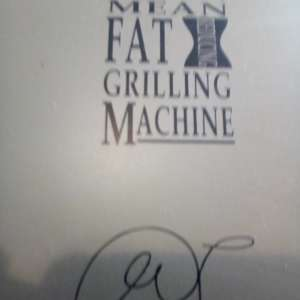 For sale: Lean Mean Grilling Machine by George Firman - €60
