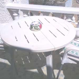 For sale: Plastic Table & Chairs