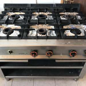 For sale: Big gas stove for restaurent