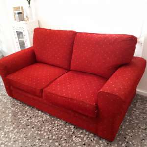 For sale: Red/maroony Sofa bed in very good condition - €250