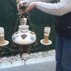 For sale: Spanish light fitting - €50