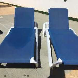 For sale: 2 x sun loungers. - €80