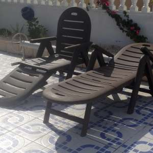 For sale: 2 x Adjustable Sunlounges SOLD