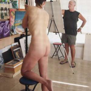 Life drawing art class near Cabo Roig