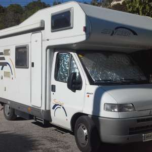 For sale: Hymer Motorhome