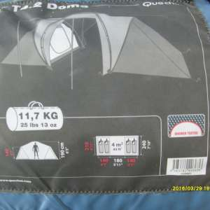 For sale: Camping equipment