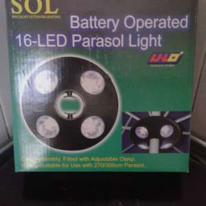 For sale: NEW PARASOL LIGHTS 10 EUROS - €10