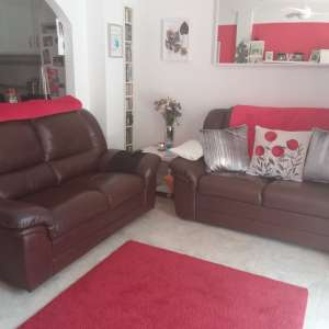 For sale: 2 x 2 seater leather sofas - €150