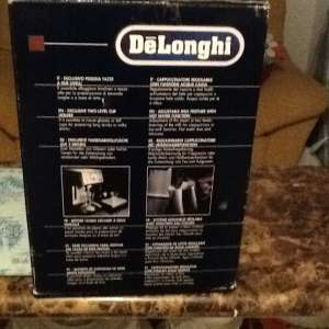 For sale: Di longhi top of the range coffee machine