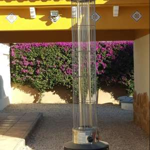 For sale: patio heater as new