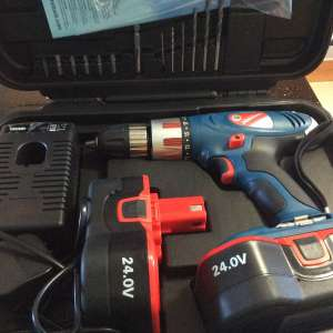 For sale: 24 volt drill SOLD - €70